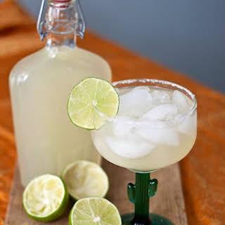 DIY Margarita Mix.