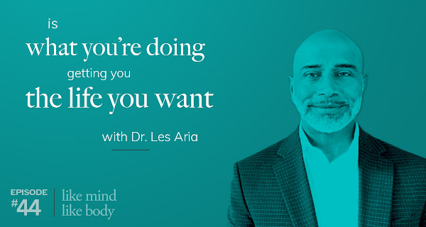 Is What You're Doing Getting You the Life You Want with Dr. Les Aria