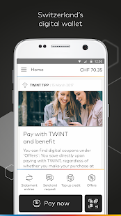 Prepaid TWINT & other banks- screenshot thumbnail
