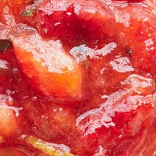 Apple, Strawberry, and Mint Jam