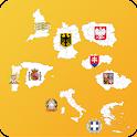 European Country's Region Info icon