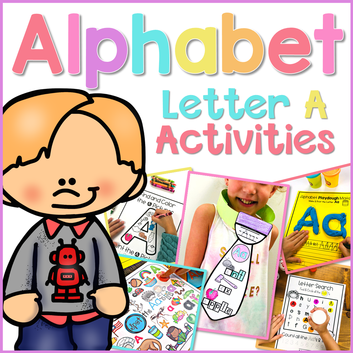 free letter a alphabet activities pack