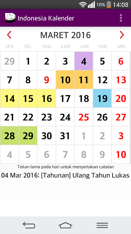 Year Calendar Google : Indonesia calendar android apps on google play