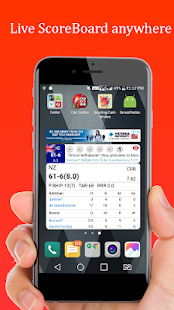 Cric Bubble - The Fastest Cricket Score Live - náhled