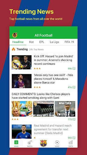 All Football - Barcelona News & Live Scores 3.1.6 BL Screenshots 2