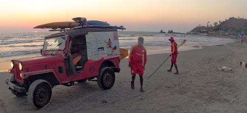 Photo: lifeguard Arambol