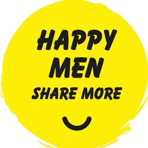 Happy Men Share More