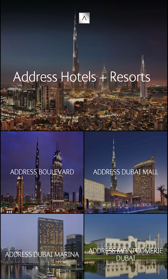 Address Hotels + Resorts- screenshot