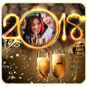 Happy New Year Photo Frames 2018