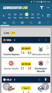 ScoreCenter Live : All sports- screenshot thumbnail