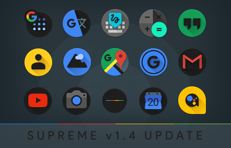 Supreme Icon Pack Screenshot 15