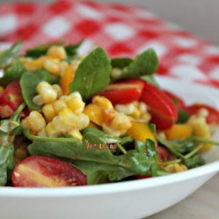 Corn Arugula Salad