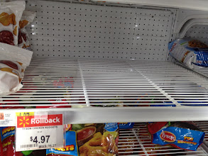 Photo: Well this isdisappointing... no more reg. Tyson nuggets.