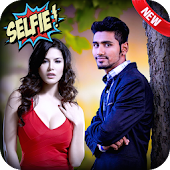 Selfie With SunnyLeone : Celebrity Photo and Me.!!