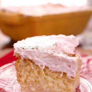 Limoncello Tres Leches Cake For Two.