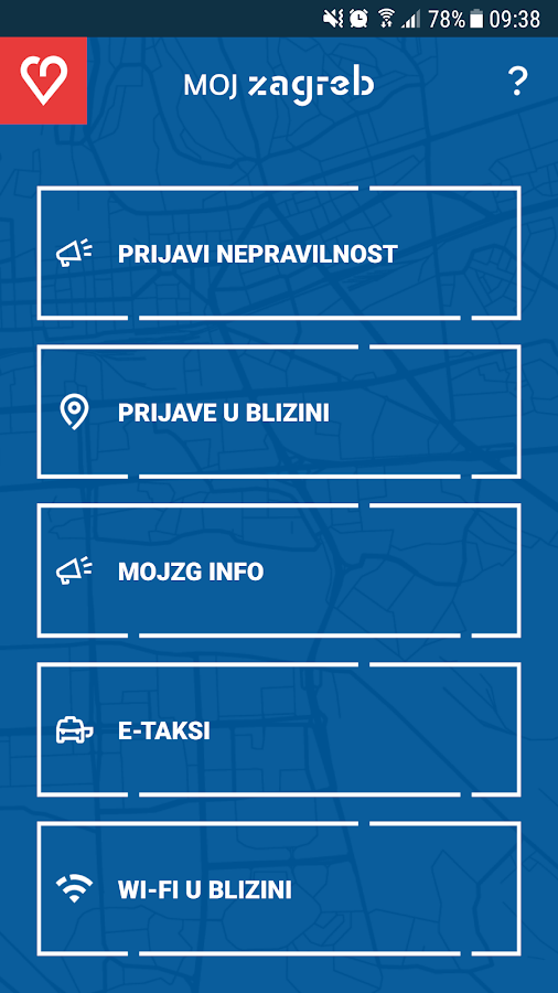 mojZagreb- screenshot