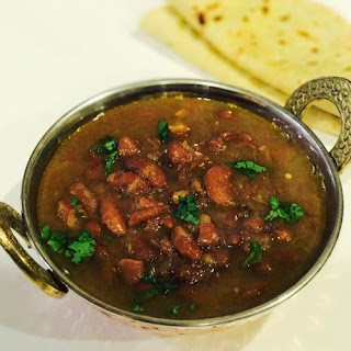 Punjabi Rajma Masala - Instant Pot Pressure Cooker.