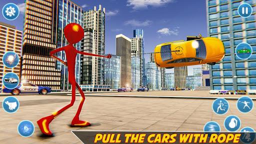 Flash Stickman Rope Hero u2013 Speed Hero Crime City 1.7 screenshots 6