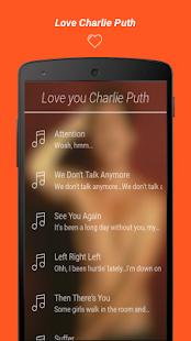 Charlie Puth Lyrics - náhled