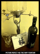 Photo: Point values for this target: 3 Points for any bottle of Absinthe; 5 Points for a bottle of Lucid Absinthe; 7 Points for a bottle of absinthe with a fairy fountain. Email your submission to contests@superficialgallery.com.