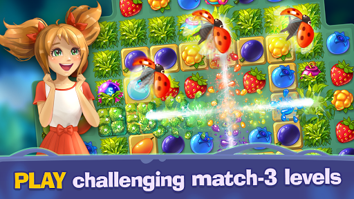 Bloomberry — match-3 story for PC