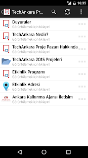 TechAnkara Proje Pazarı- screenshot thumbnail