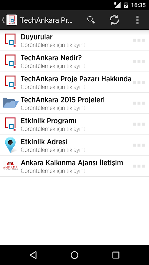 TechAnkara Proje Pazarı- screenshot