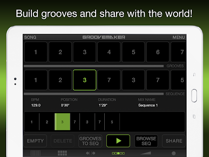 GrooveMaker 2- screenshot thumbnail