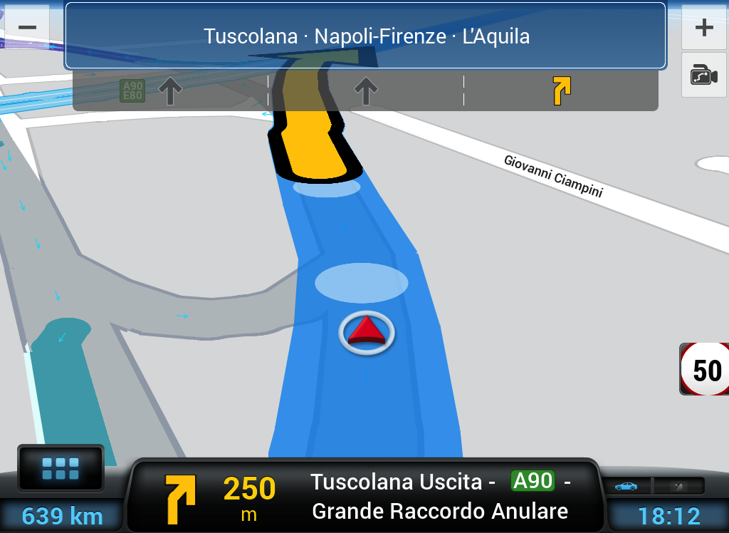 CoPilot Western Europe GPS- screenshot