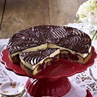 Chocolate and Cherry Cake.