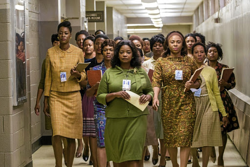 A scene from the movie 'Hidden Figures', which dramatised  the little-known contribution of African-American women in the space race.  Picture:  YOUTUBE