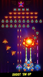 Space Shooter: Galaxy Attack MOD Apk 1.426 (Unlimited Money) 1
