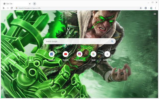 New Tab - Green Lantern