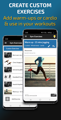 Gym Exercises & Workouts 3.30 screenshots 7