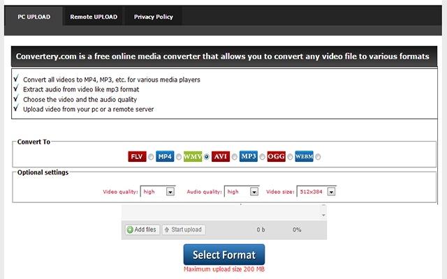 video extension converter