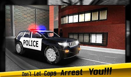 Crime Driver Vs Police Chase 1.0.2 screenshot 63254