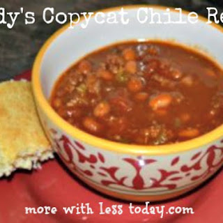 Wendy's Copycat Chili – Easy Weeknight.