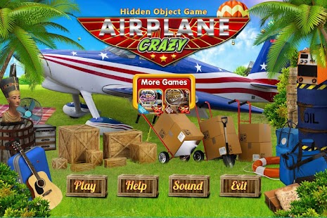 Challenge #206 Airplane Crazy Free Hidden Objects - náhled