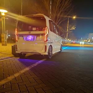 Nボックスカスタム JF4 のカスタム事例画像 👿静岡のやんちゃな白エヌボ👿さんの2021年01月19日22:10の投稿