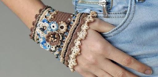 Take a look at fantastic crochet bracelets.