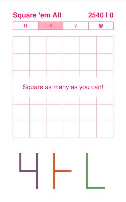 Square 'em All - screenshot