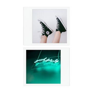 Neon Sneaker Frame - Instagram Post Template