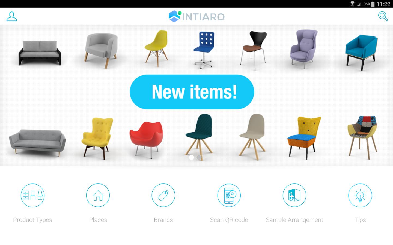 Intiaro Interior Design Screenshot