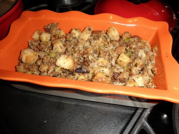 Savory Stuffing For Turkey Recipe
