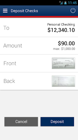 android Bank of Internet Mobile App Screenshot 3