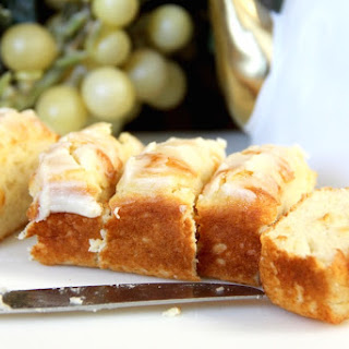 Gain-No-Pound Cake with Honey Butter Glaze.
