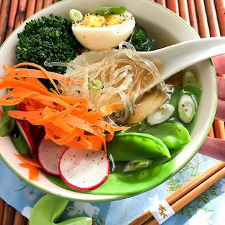 Low Carb Kelp Noodle Ramen