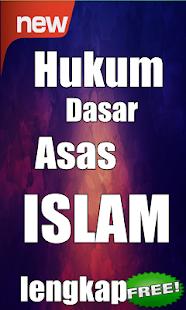 Hukum Dasar Asas Islam Lengkap - náhled