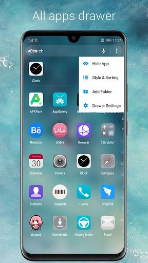 Cool EM Launcher - EMUI launcher style for Mate 20 screenshot 5