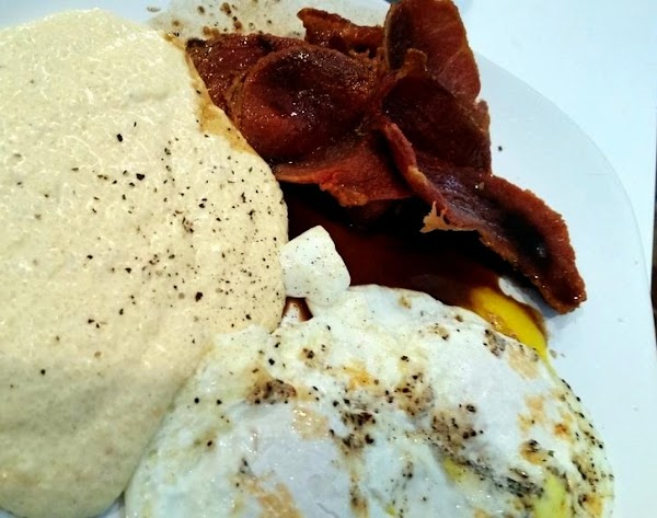 Now, while the skillet is still warm, add the coffee mixture and scrape any...